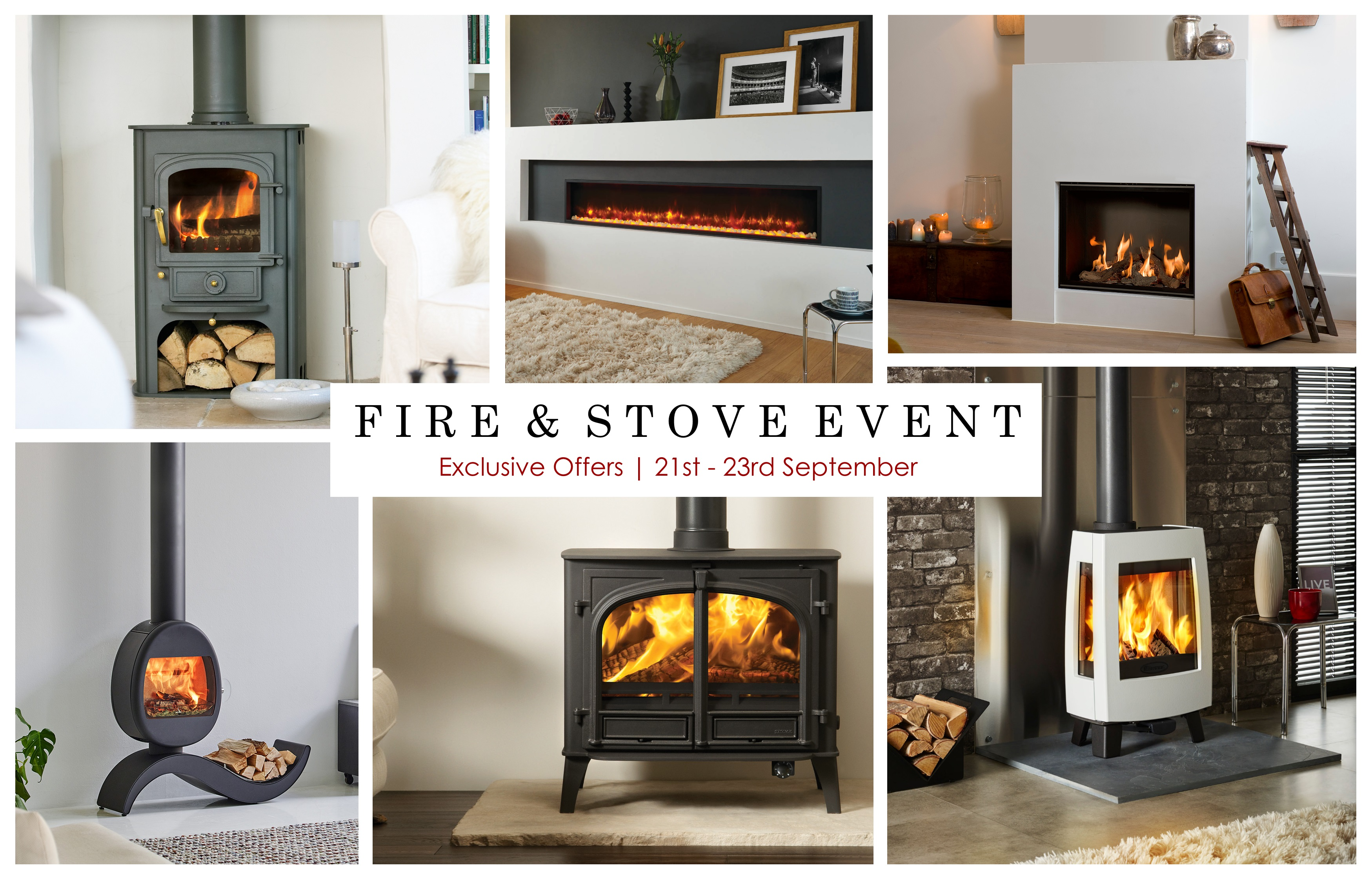 Bell fire and Stove Event Sale Exclusive Offers September 21st - 23rd