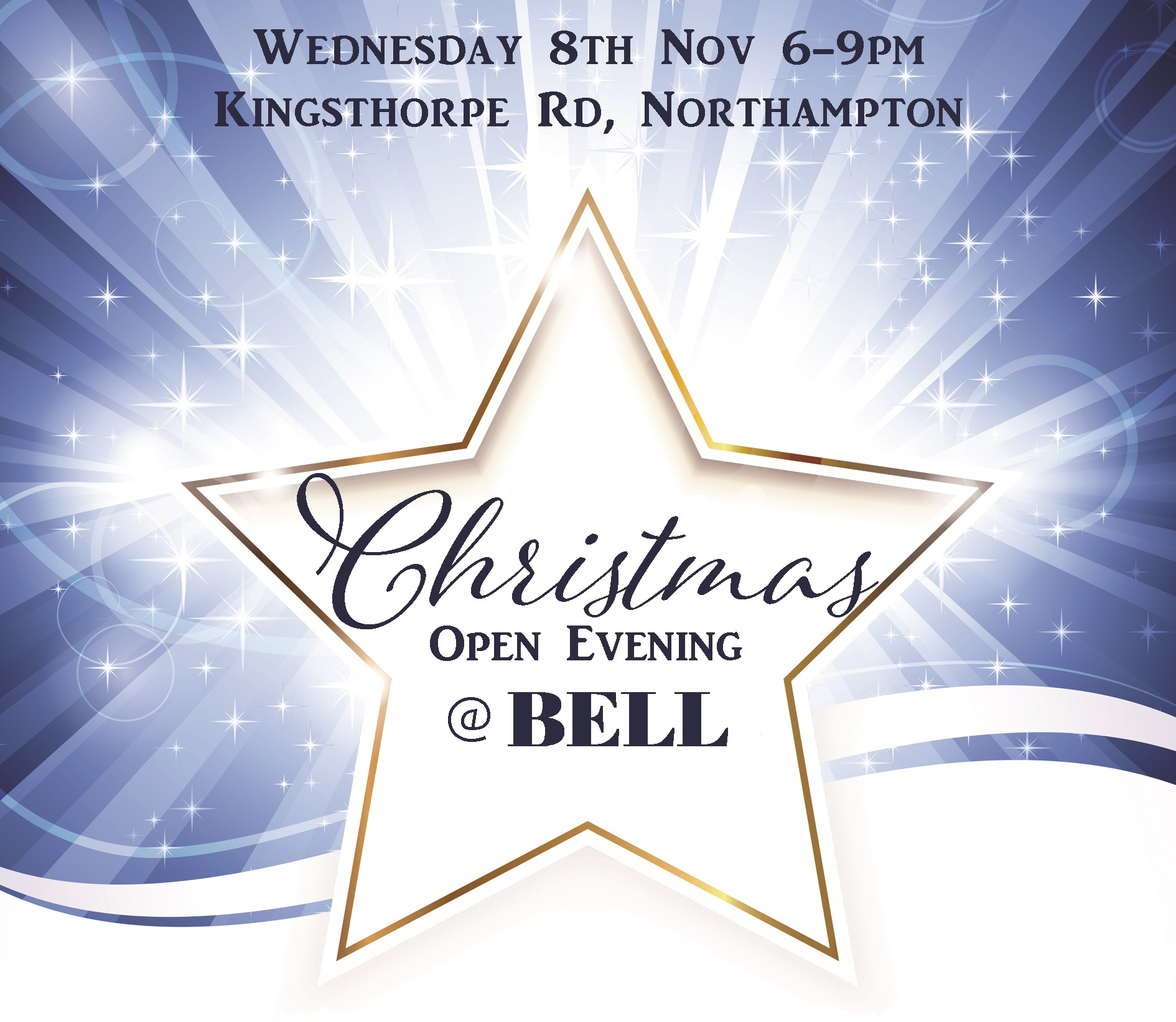 Bell's Christmas Open Evening Party Bell