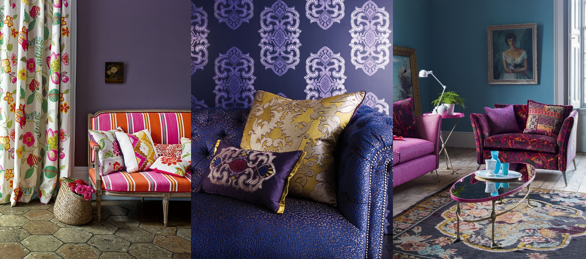 Pantone Colour of the Year Ultra Violet Color Interior Design