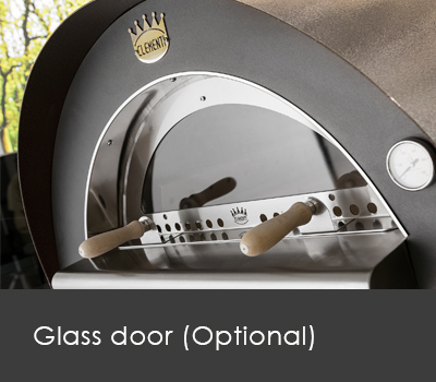 Clementi Pizza Oven Glass door