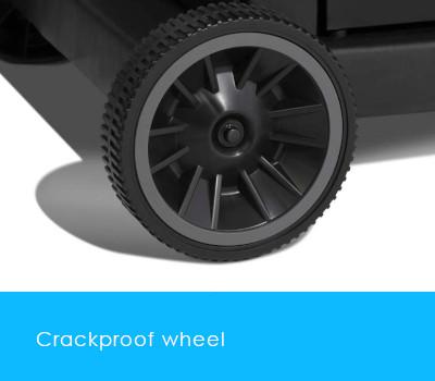 Crackproof wheels