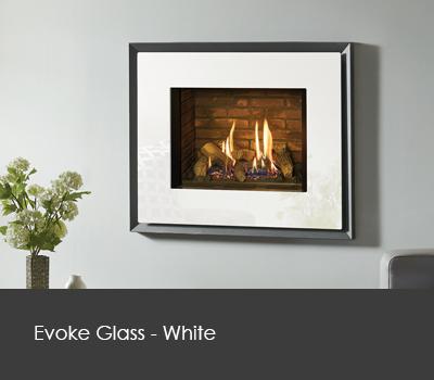 Evoke white Glass