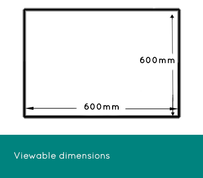 Viewing dimensions