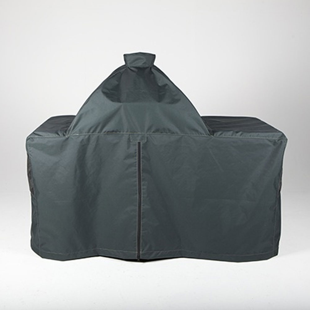 An image of Big Green Egg Large Forest Green Table Cover