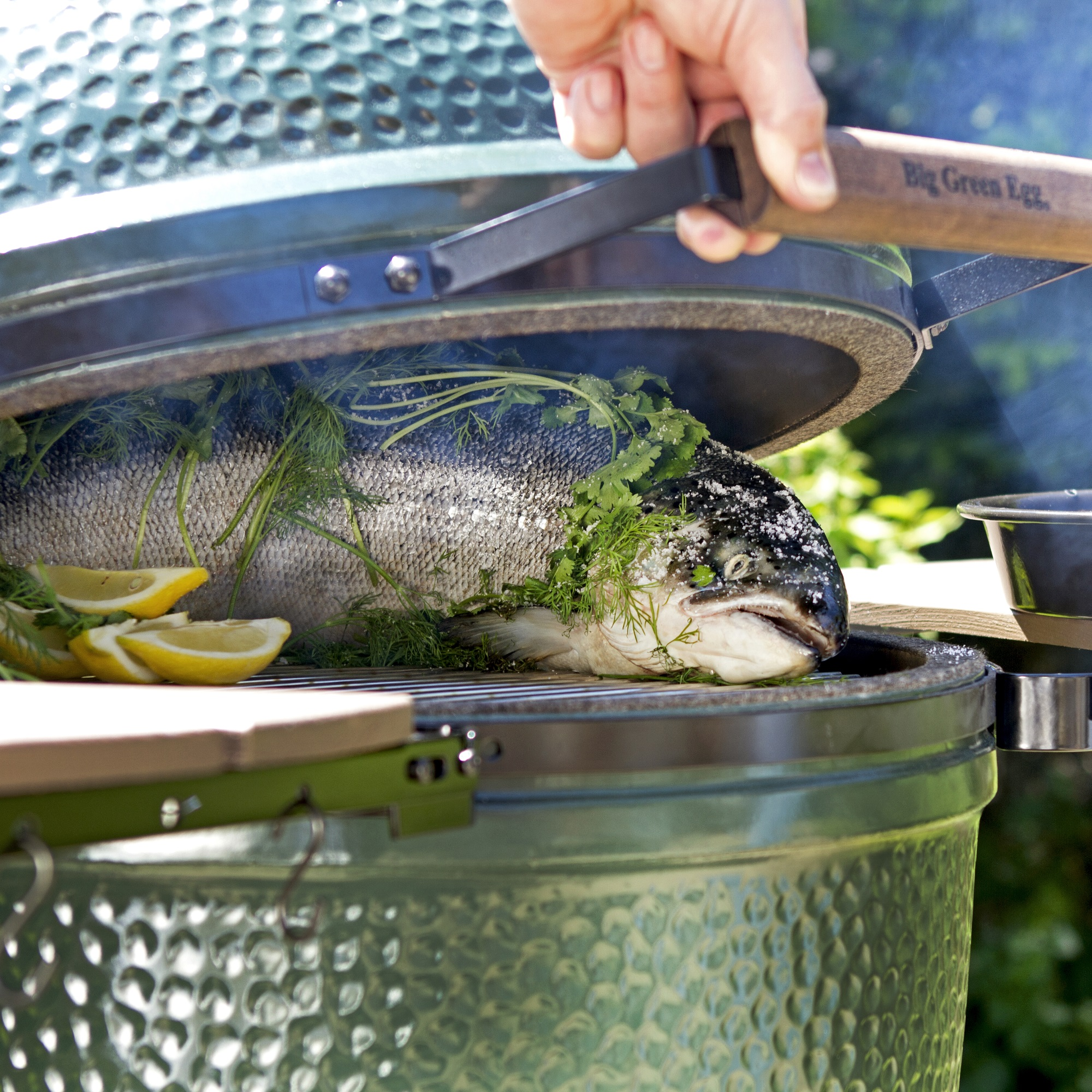 An image of Big Green Egg Large Premium Plus Bundle