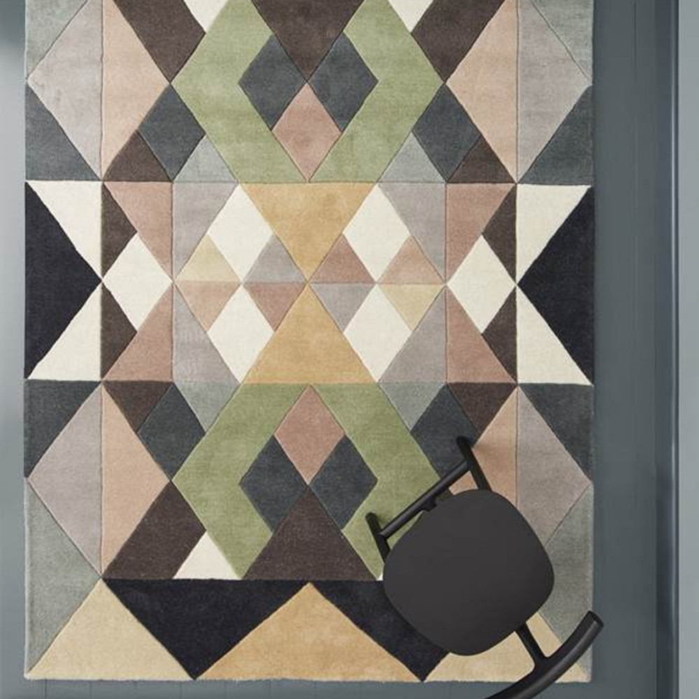 An image of Linie Designs Rug - Margit - Available in 2 Sizes & 1 Colour - Pastel