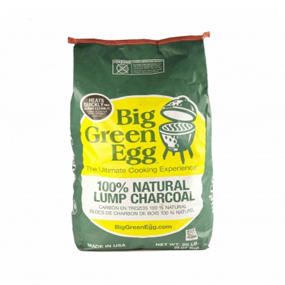 An image of Big Green Egg 100% Organic Lump Charcoal Large