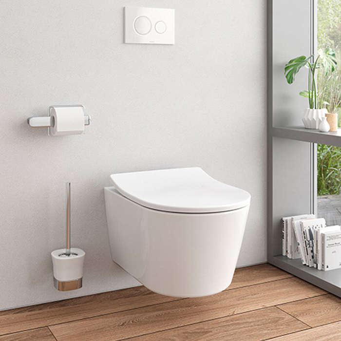 An image of TOTO RP Wall Hung Toilet & Seat