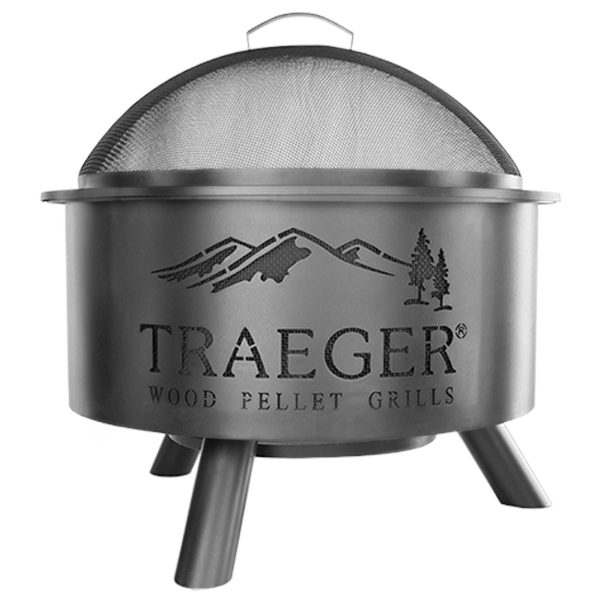 An image of Traeger Cooking Accessories - Outdoor Fire Pit