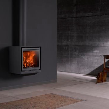An image of Stuv Stoves - Stuv 16/78-Up Wood Burning Stove - Without outside air connector