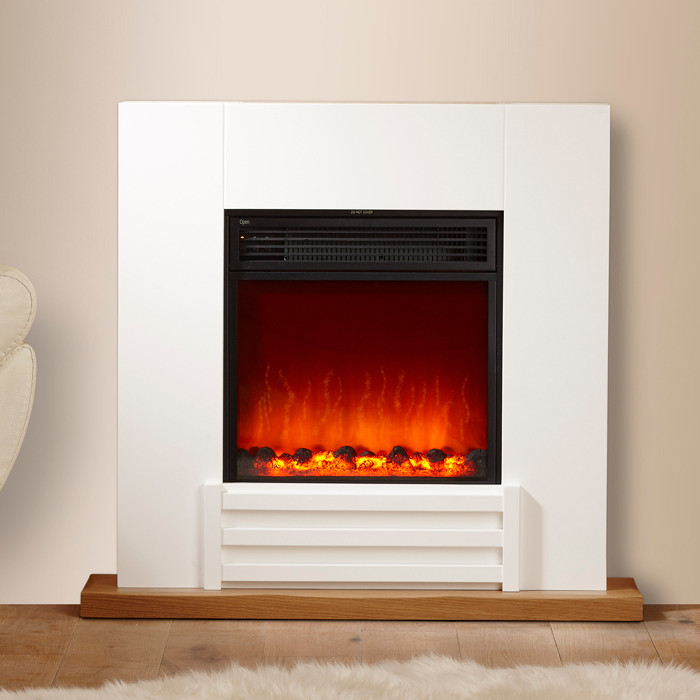 An image of OER Piccolo Electric EcoEasy Fireplace