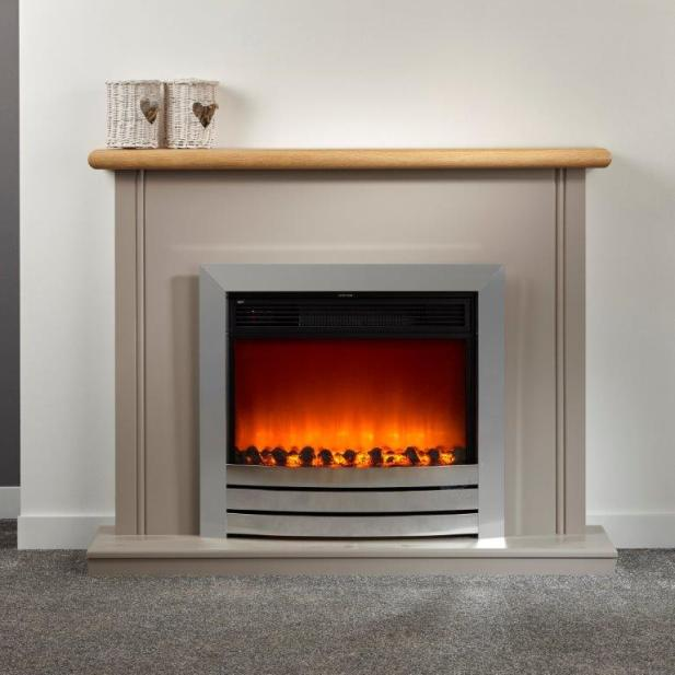 An image of OER Stirling Electric EcoEasy Fireplace