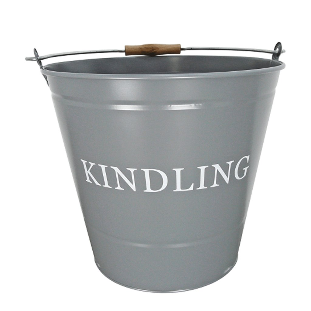 Manor Grey Kindling Bucket