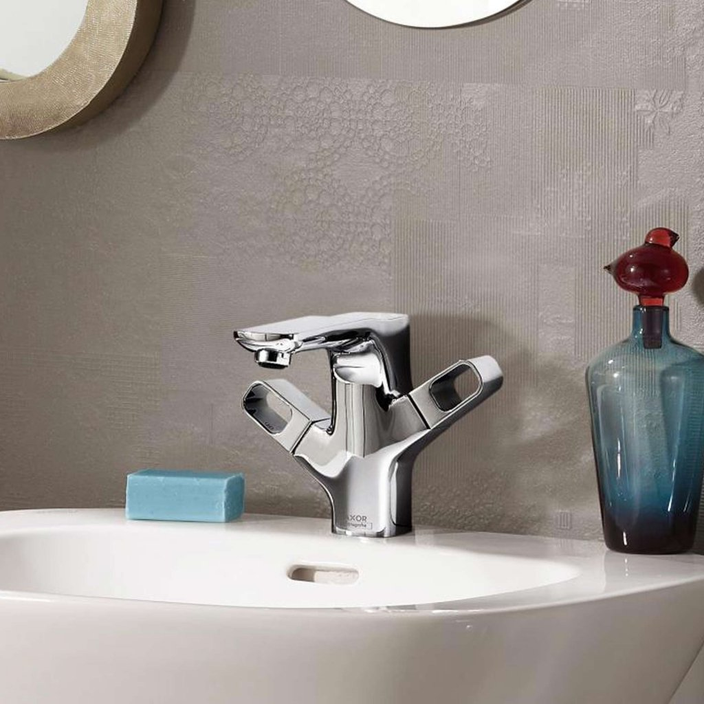 Axor Urquiola 2-Handle Basin Mixer 120 With Pop Up Waste