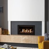 Gazco Gas Fires - Studio 1 Edge Glass Fronted Inset, Balanced Flue - Natural Gas