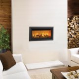 Gazco Gas Fires - Studio 1 Profil Glass Fronted Inset, Balanced Flue In Anthracite