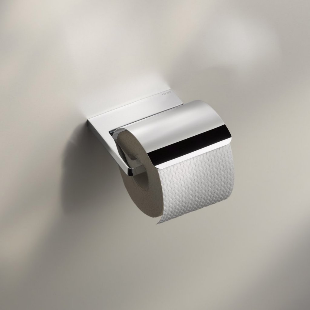 Keuco Collection Moll Toilet Roll Holder With Lid