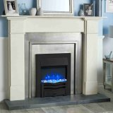 Gazco Fires - Logic2 Electric Wave Fire - Black frame with black front