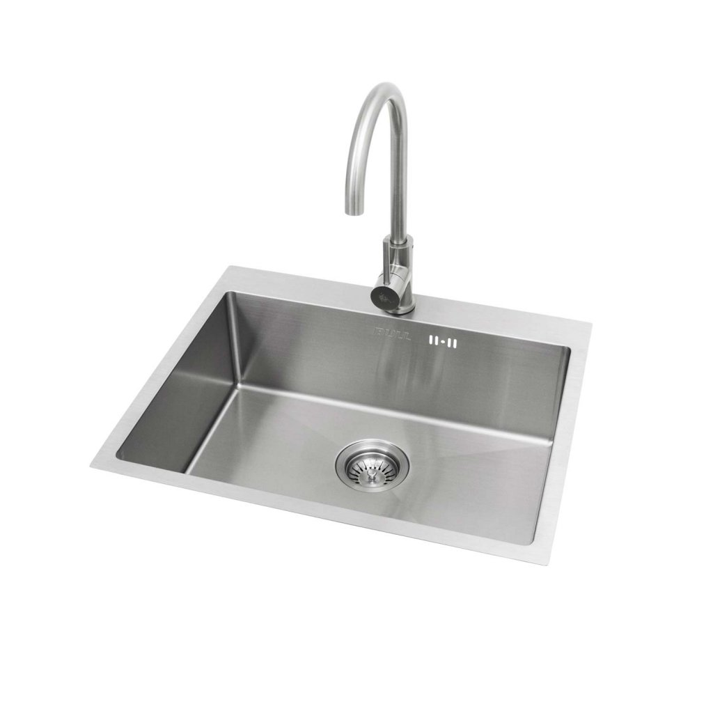 Bull Extra Large Premium Stainless Steel Sink and Tap