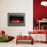 Riva2 670 Designio2 Iridium Steel Electric Fire