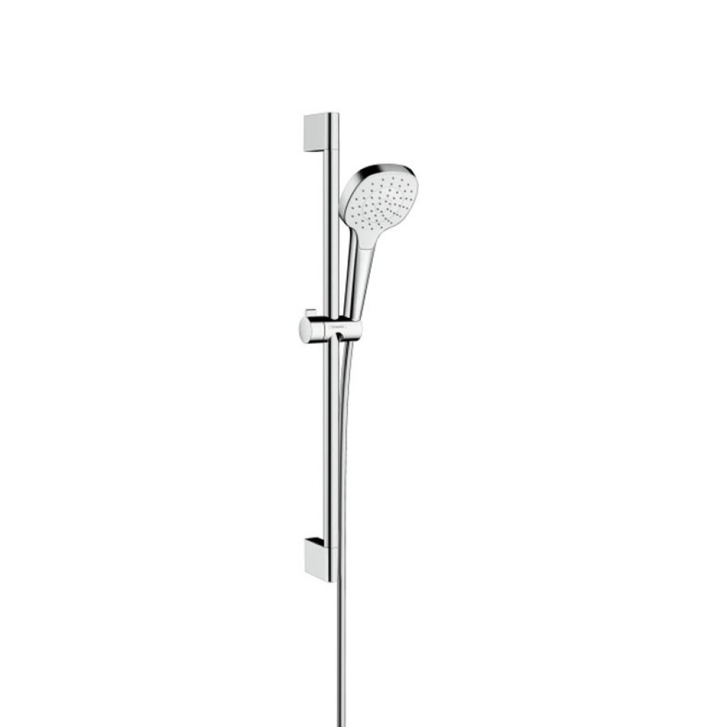 Hansgrohe Croma Select E 1jet Shower Set With 0.65m Wall Bar