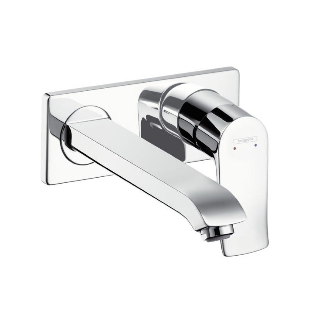 Hansgrohe Metris Single Lever Basin Mixer With Long Spout 225mm