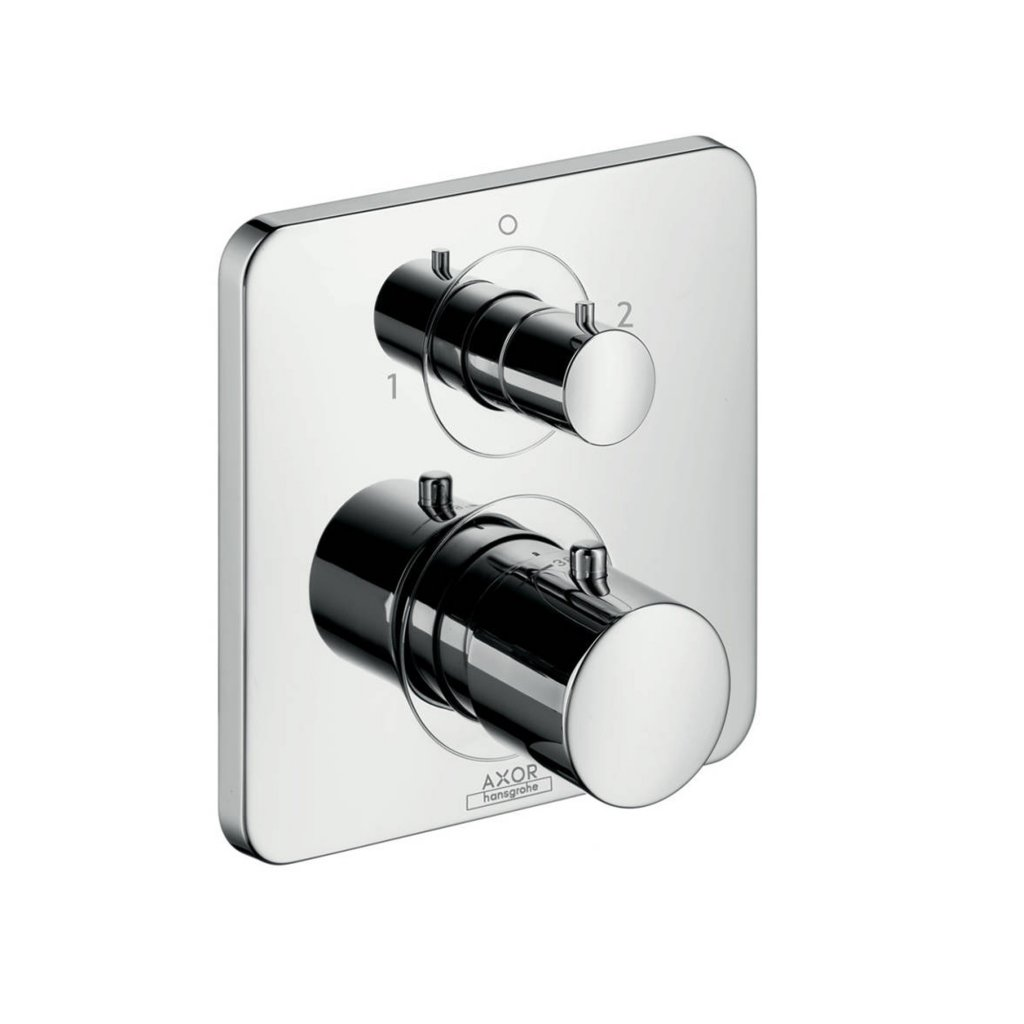 Axor Citterio M Thermostatic Mixer With Shut-Off & Diverter Valve