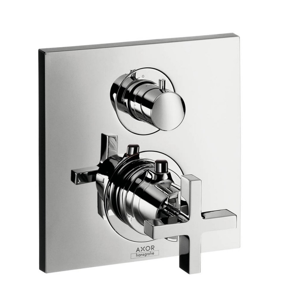 Axor Citterio Thermostatic Mixer Including Cross Handles