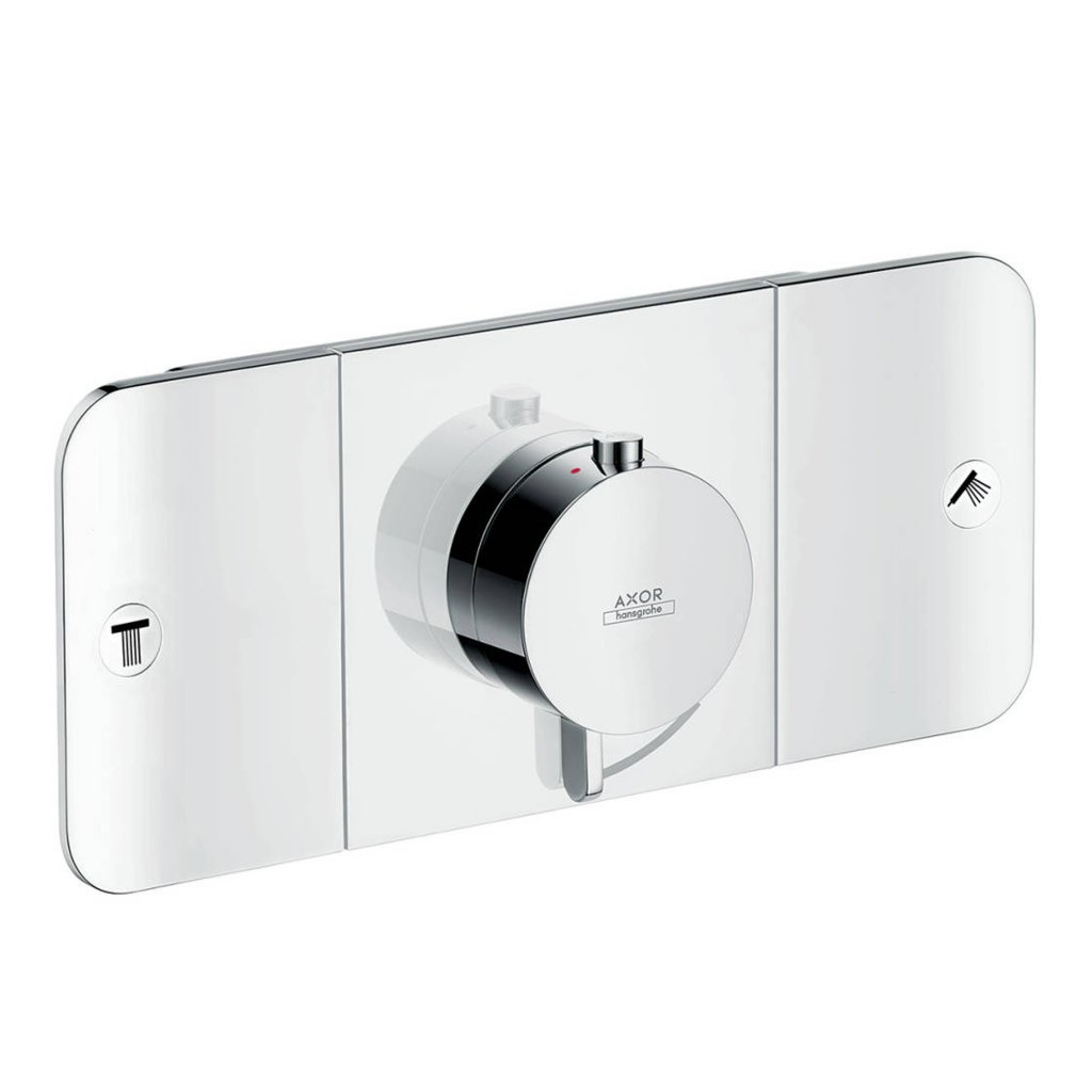 Axor One Thermostatic Module For Concealed Installation For 2 Outlets