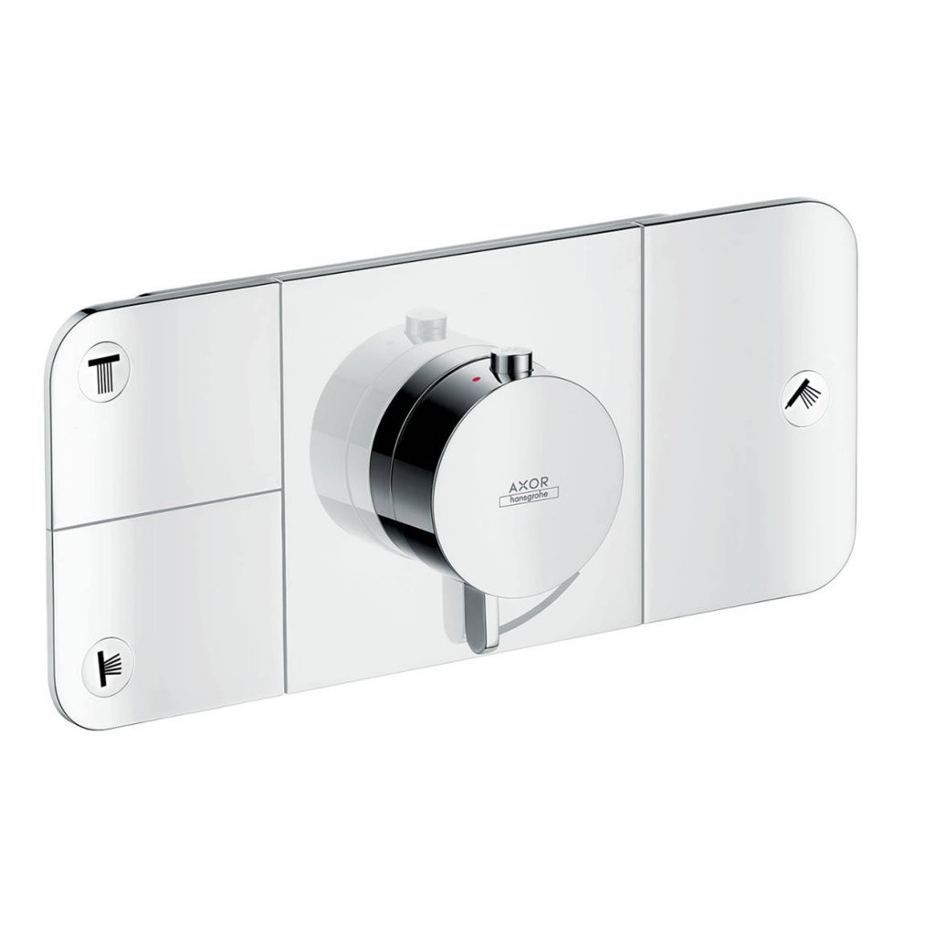 Axor One Thermostatic Module For Concealed Installation For 3 Outlets