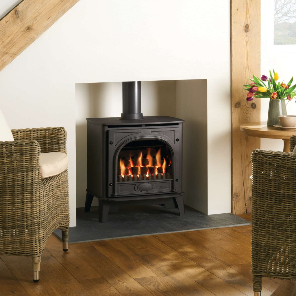 Gazco Gas Stoves - Stockton2 Medium - Conventional Flue