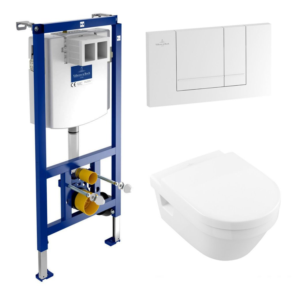 Villeroy & Boch Architectura Wall Hung WC Pan & Frame Pack