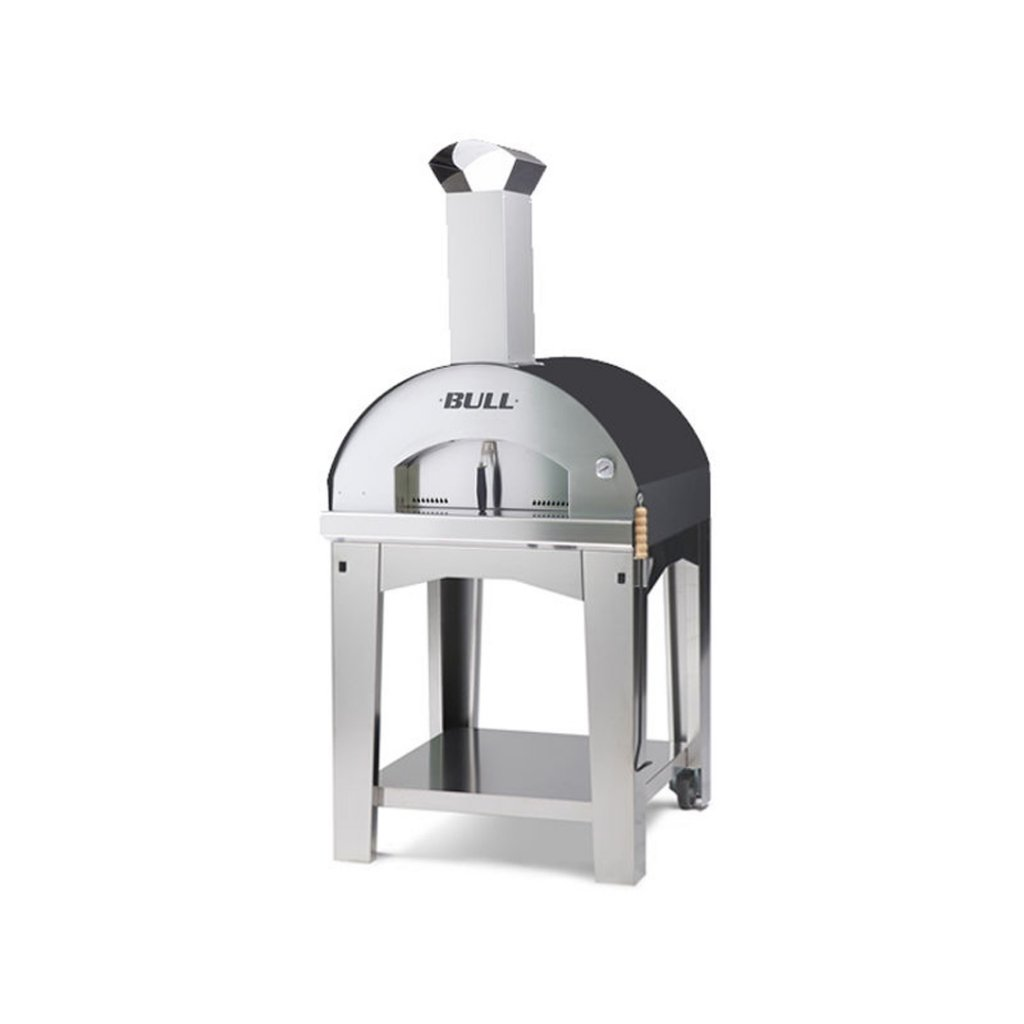 Bull BBQs - Extra Large Pizza Oven & Cart - Wood Fired