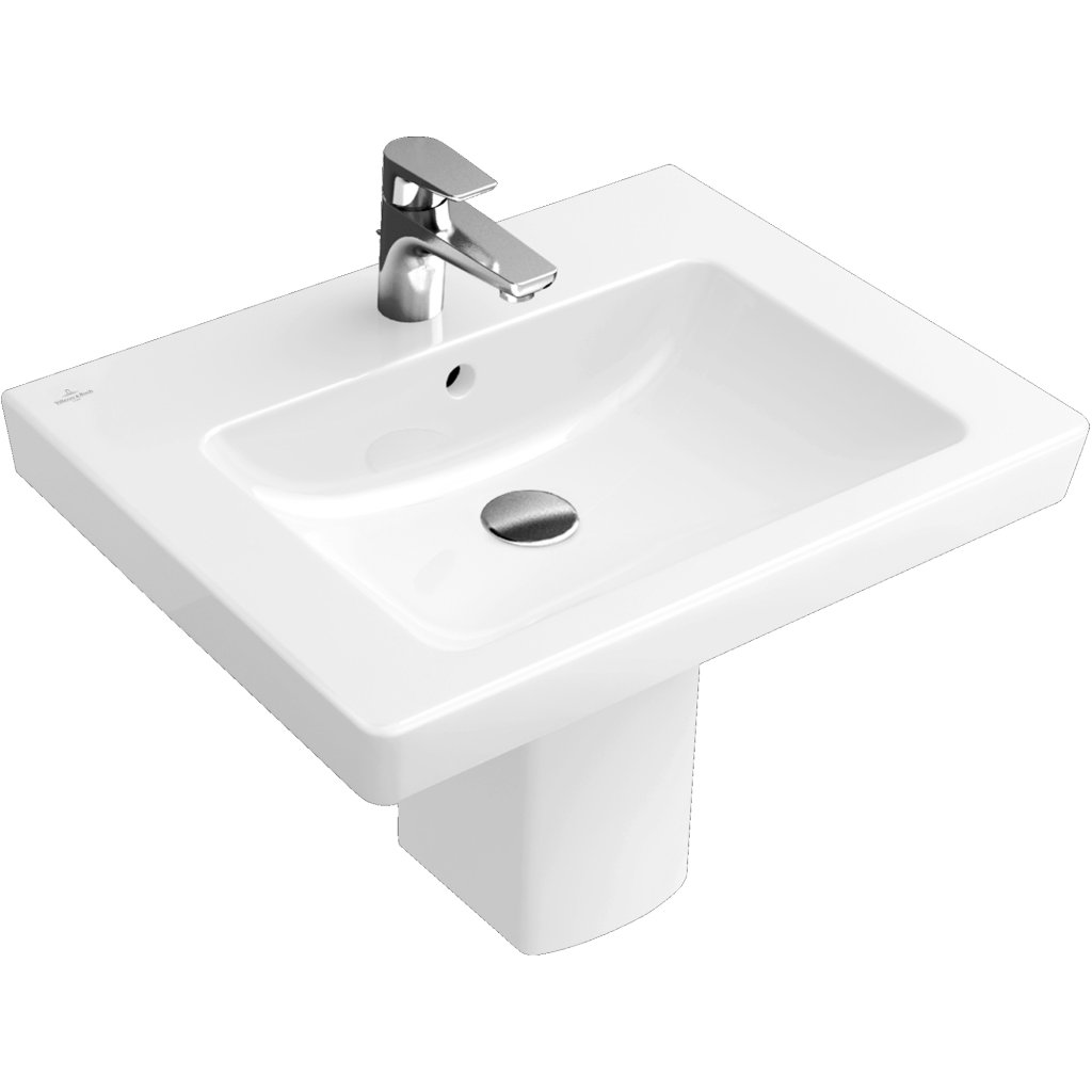 Villeroy & Boch Subway 2.0 Wash Basin With Overflow 650x470mm