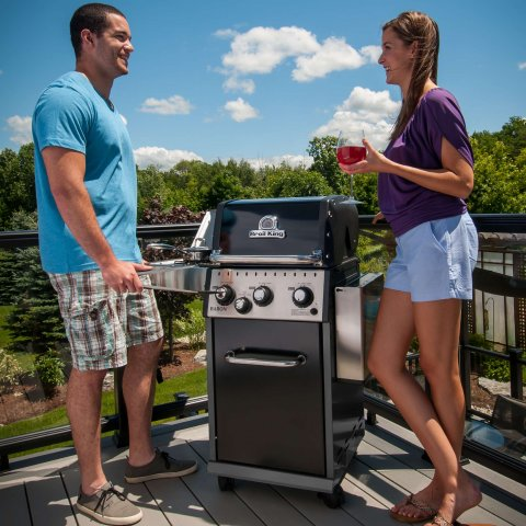 Broil King Baron 340 Gas BBQ