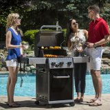 Broil King Baron 340 Gas BBQ - Includes Side Burner