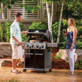 Broil King Baron 490 Gas BBQ - Includes Side Burner & Rotisserie - Chicken Roaster Offer