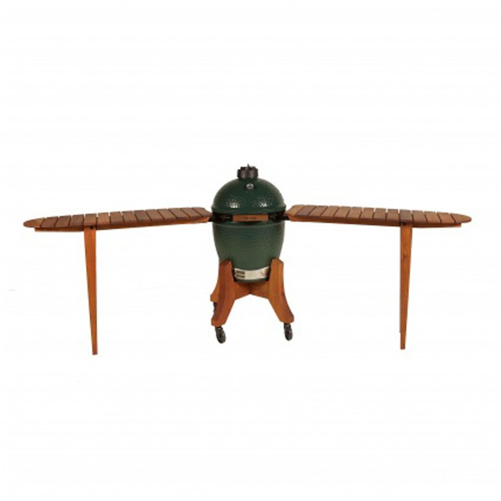 Big Green Egg Large Royal Mahogany Detachable Bar Top Shelves