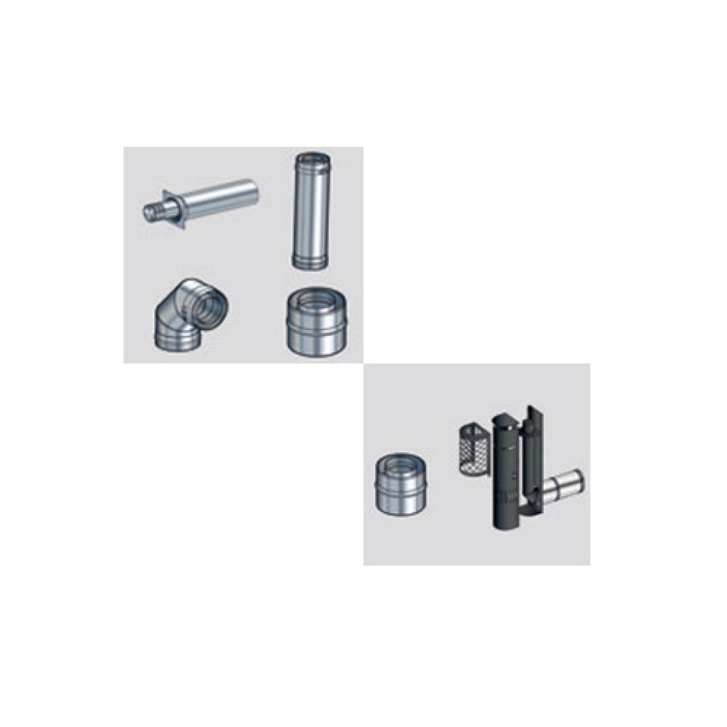 ACR Balanced Flue Kits for NEO 3 Gas Stove