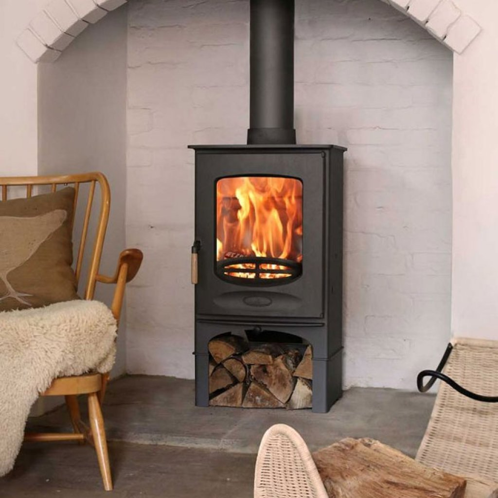Charnwood C-Eight 8kW Eco Wood Burning Stove - DEFRA Approved