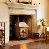 Clearview Vision 500 Multi Fuel Low Canopy Stove