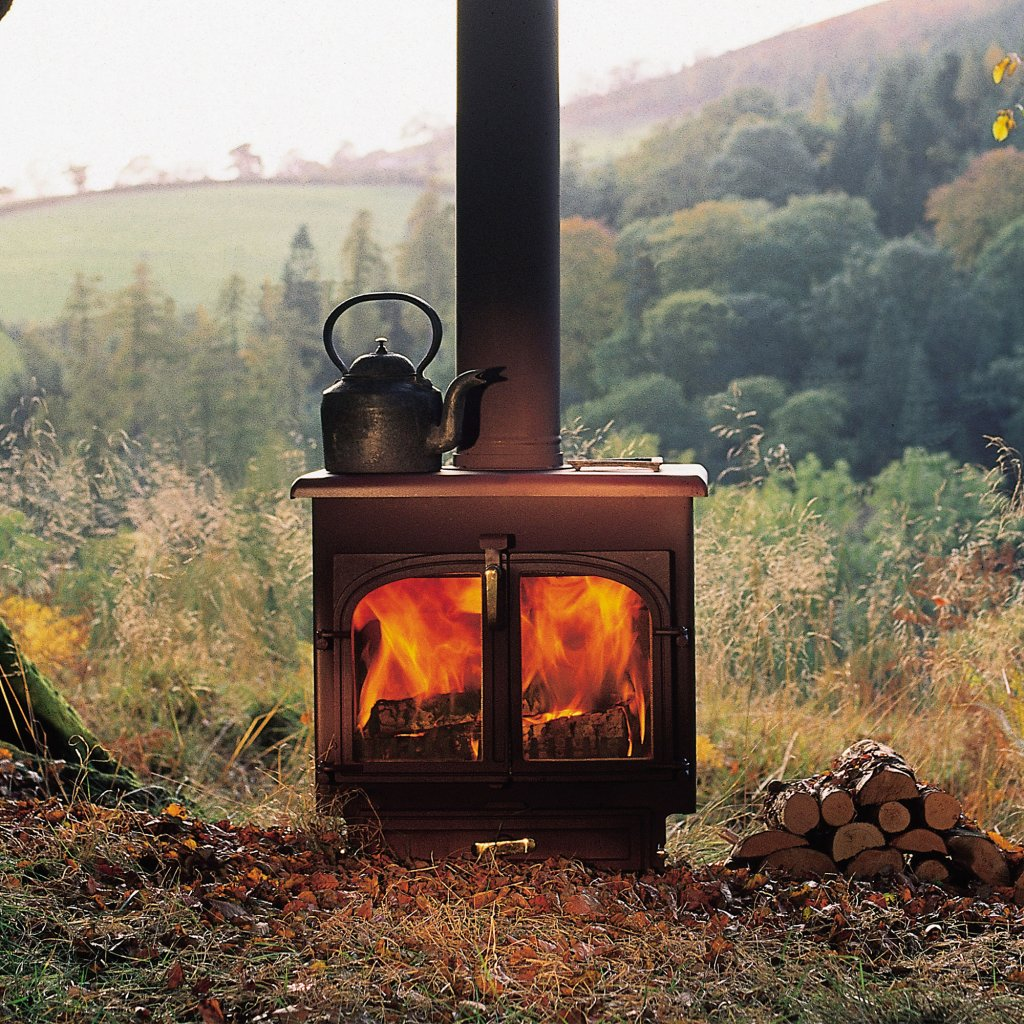 Clearview 750 Flat Top Multi Fuel Stove
