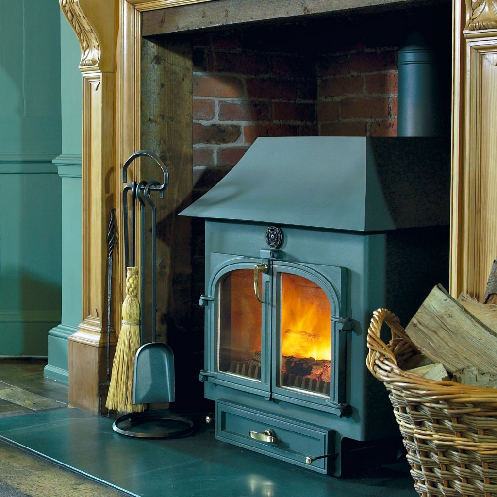 Clearview 750 Low Canopy Multi Fuel Stove