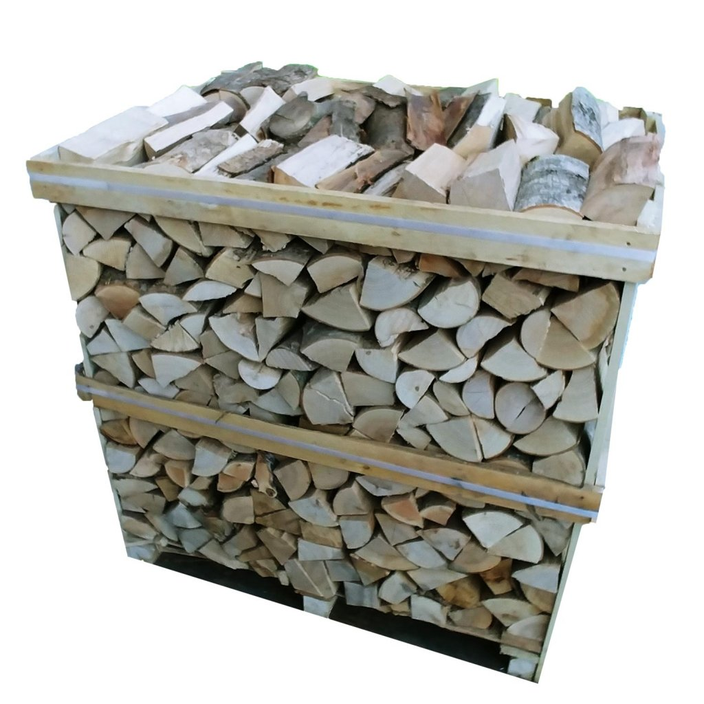 Crate of Kiln Dried Wood - 1m3
