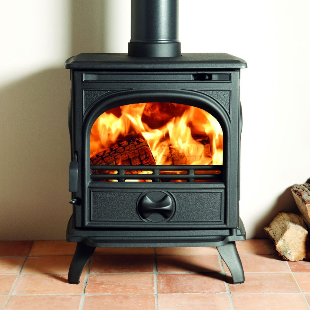 Dovre 250 Matt Black 5kW Multi Fuel Stove - EcoDesign Ready