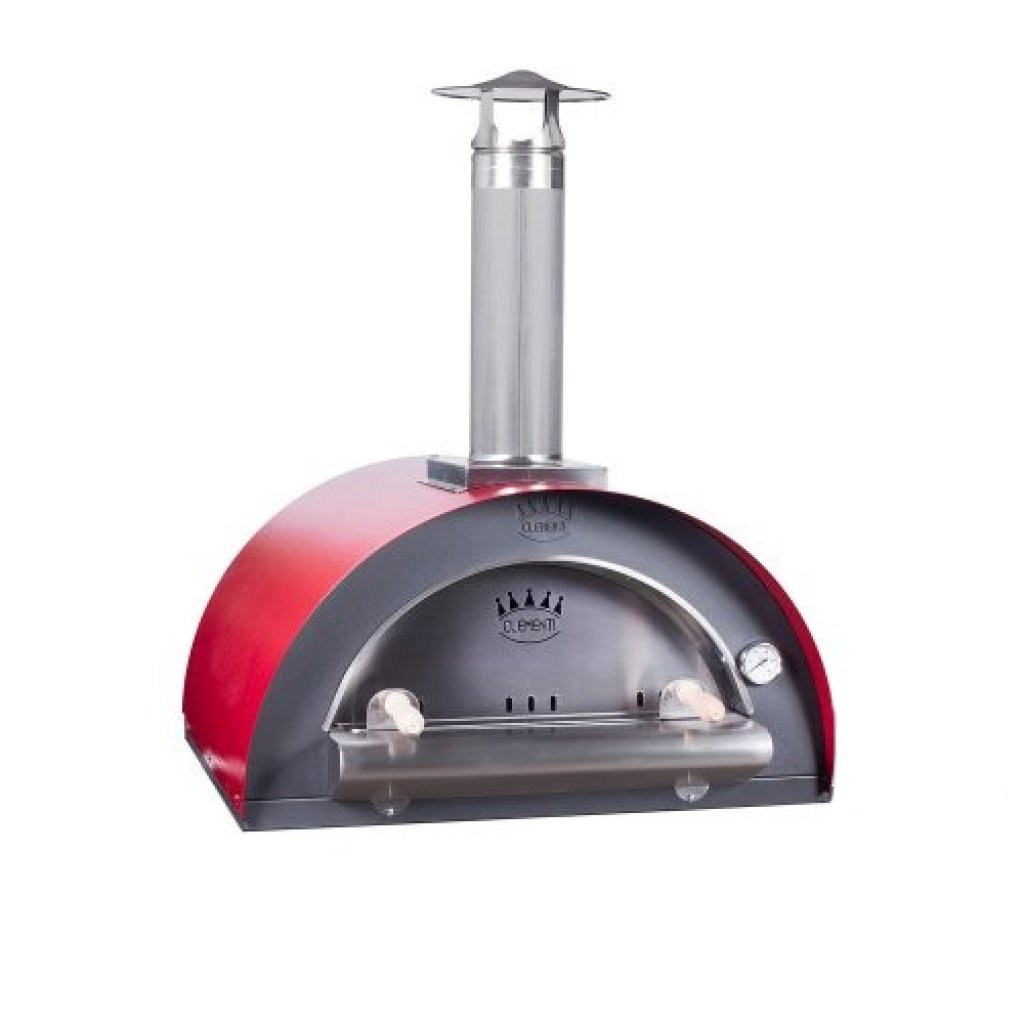Clementi Pizza Ovens - 'FAMILY' Wood Fired - Medium (80x60cm)
