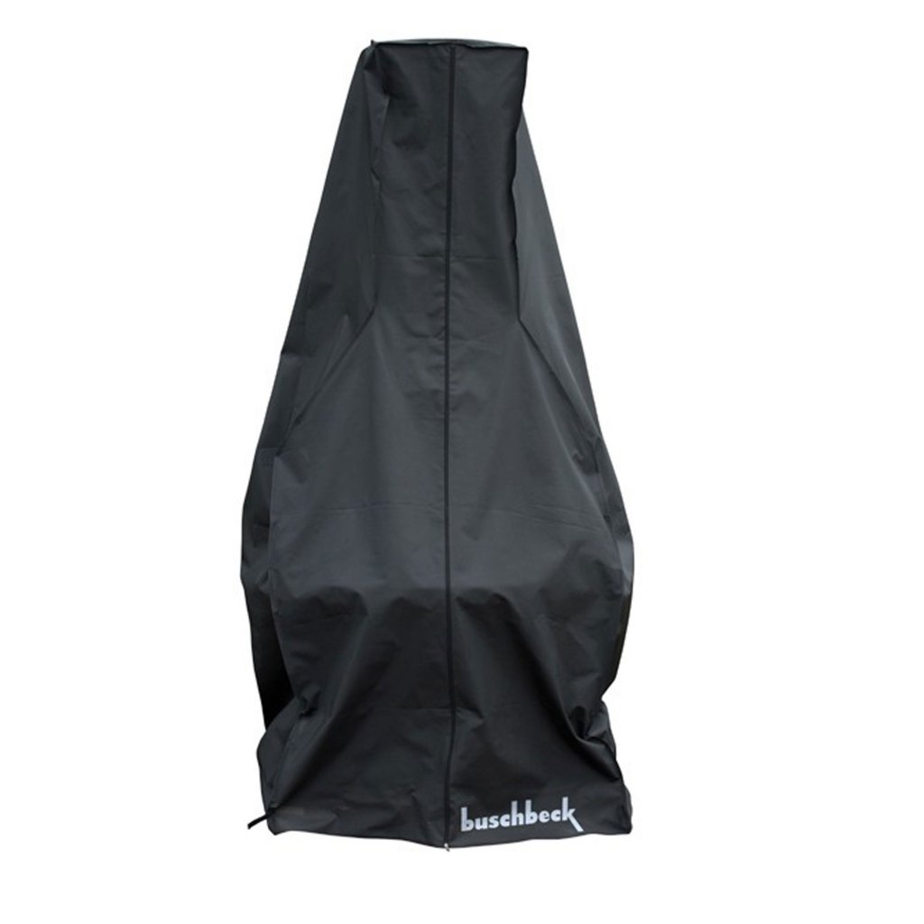 Buschbeck Masonry BBQ Fireplace Full Cover