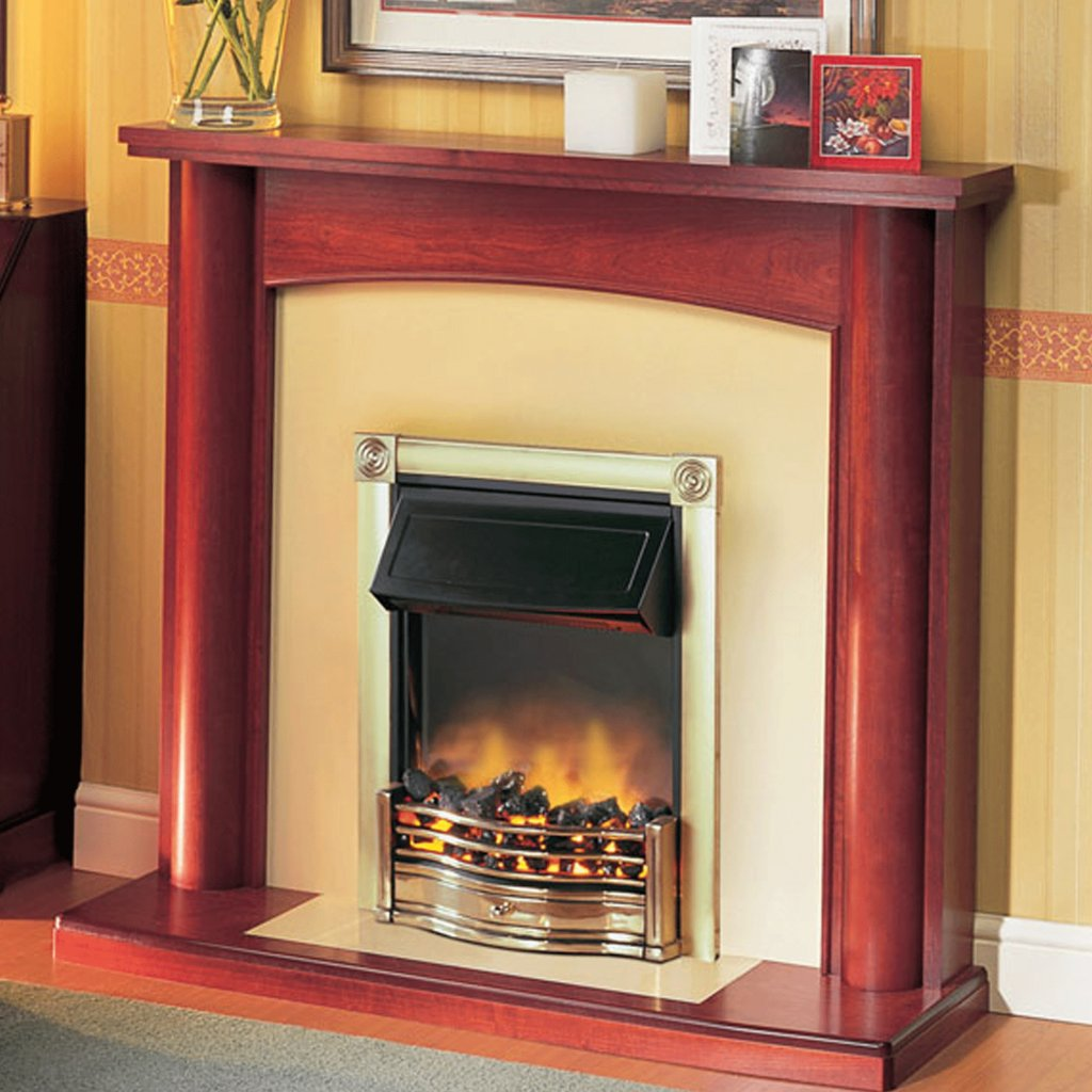 Dimplex Optiflame Horton Brass Inset Electric Fire