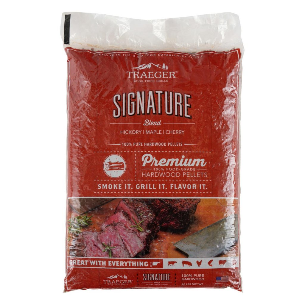 Traeger Smoker Accessories - Signature Blend Pellets -  20LB BAG