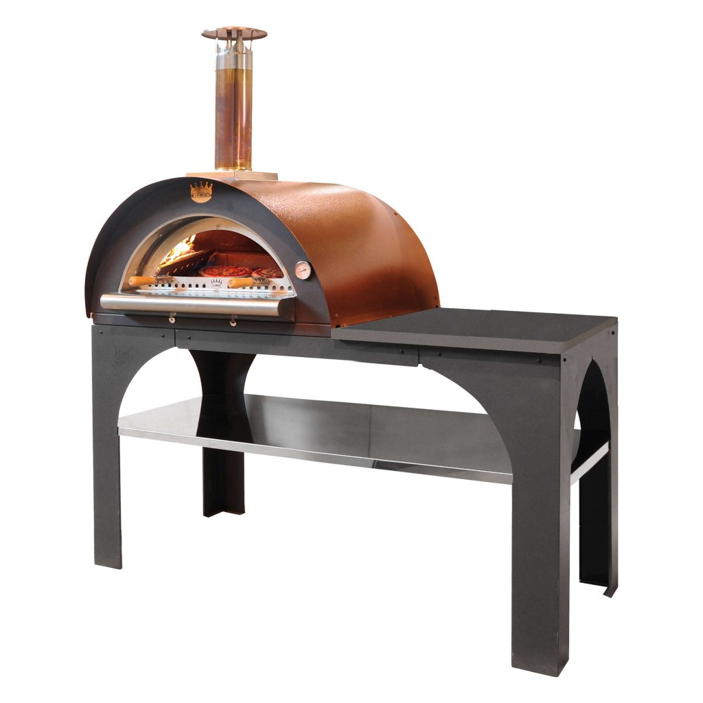 Clementi Pizza Ovens - 'PIZZA PARTY' Wood Fired With Preparation Table